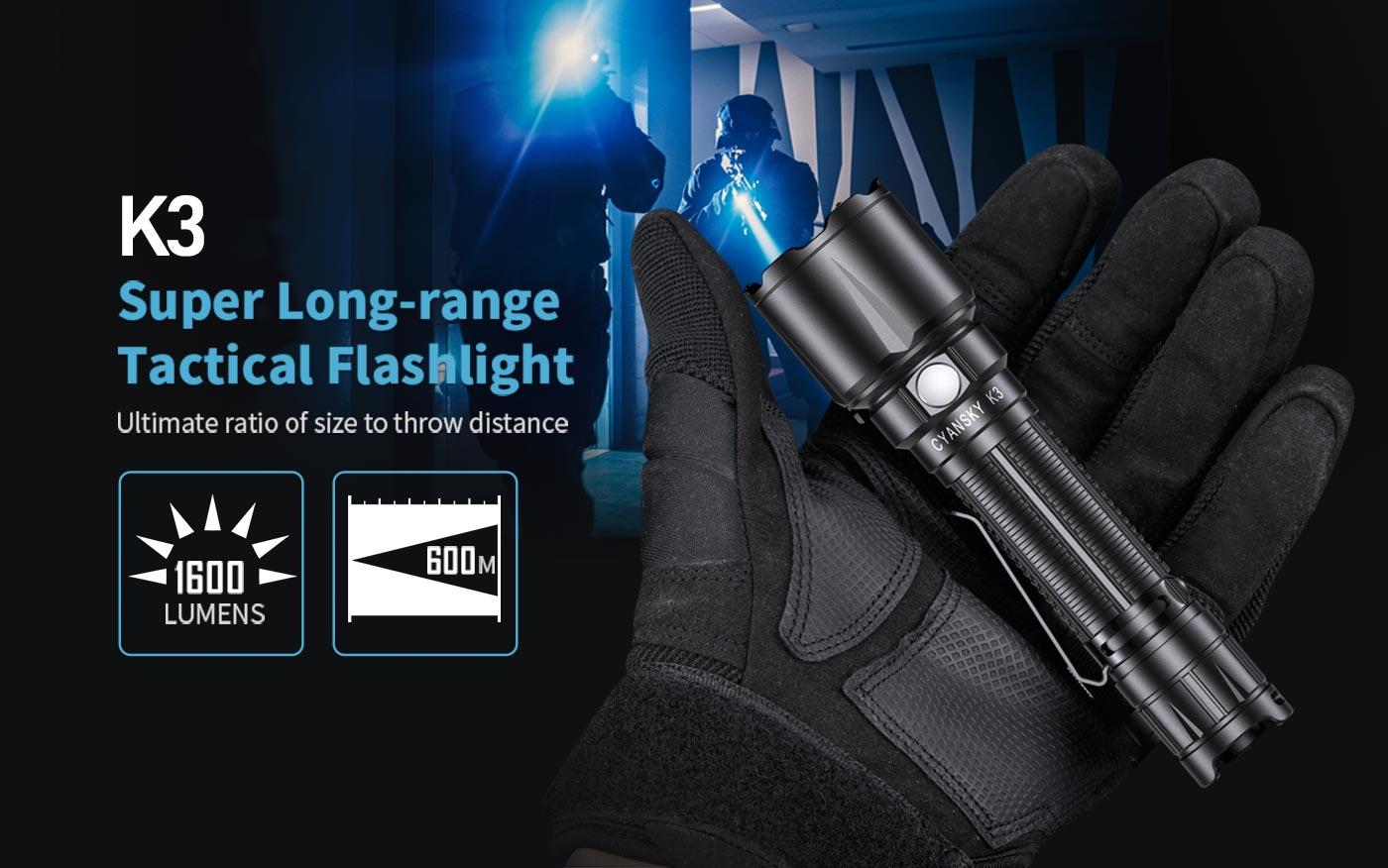 search rescue torch, self defense flashlight, brightest tactical flashlight