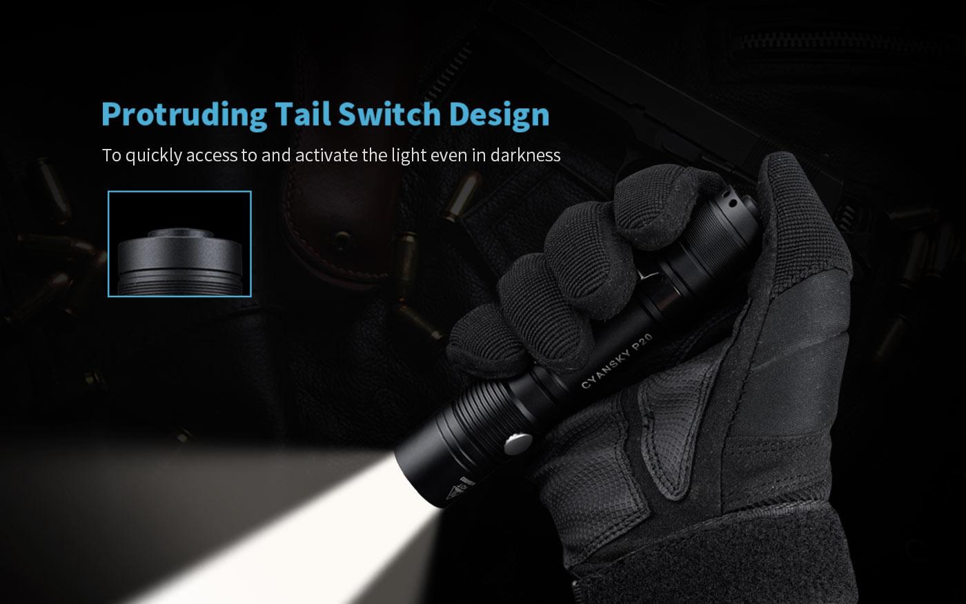 outdoor tactical flashlight, led flashlight outdoor, camping torch light