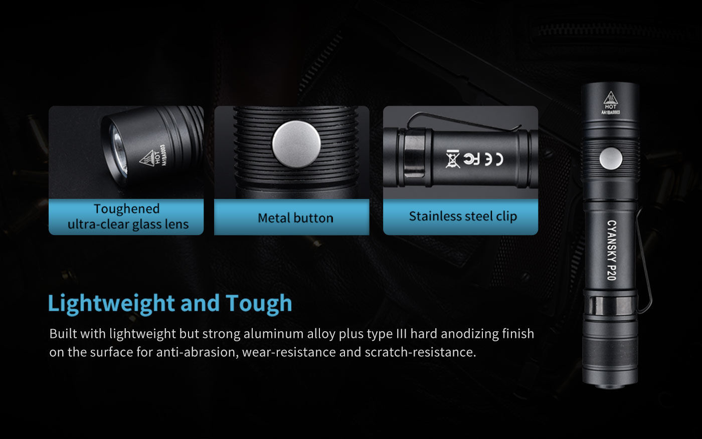lightweight hiking flashlight, camping torch light, best camping torch