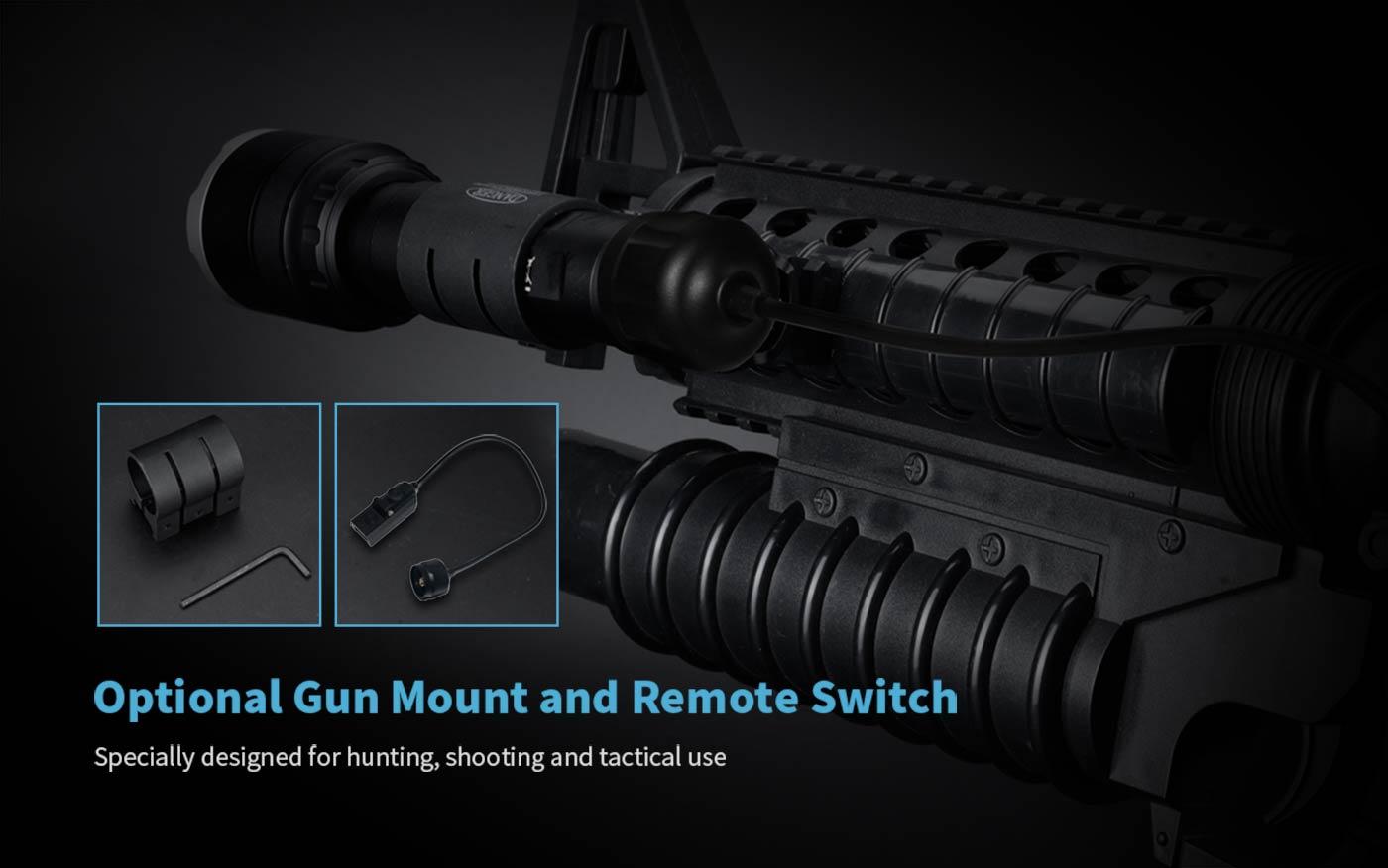 tactical hunting flashlight, shooting flashlight, best tactical shotgun flashlight